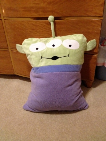 Toy Story Alien Pillowcase