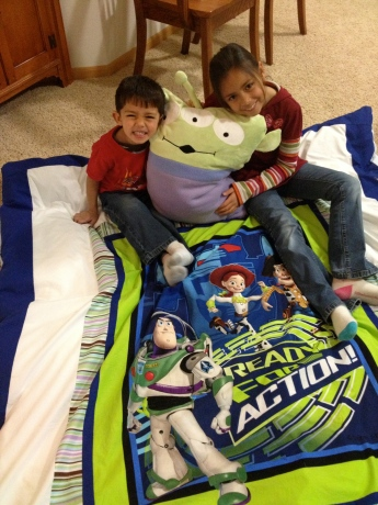 Toy Story Pillowcase and Duvet Cover