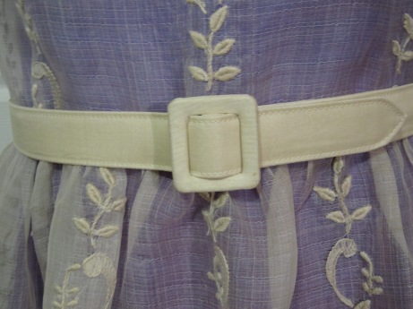 Finished Maxant Fabric Belt